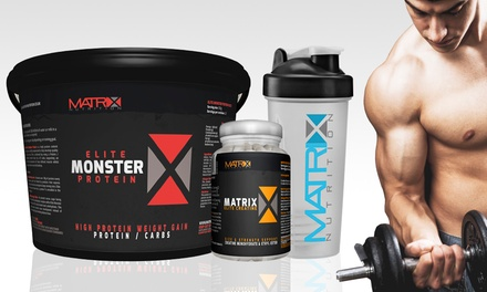 Matrix Monster Elite Protein with Shaker Plus Creatine Tablets from £25.98 (Up to 79% Off)