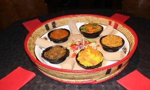 Little Ethiopia: Traditioneel Ethiopisch ontdekkingsmenu met aperitief voor 2 of 4 personen bij Little Ethiopia