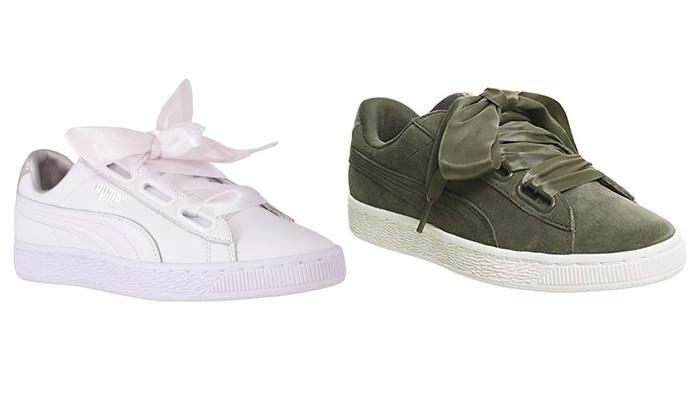 reputable site 60ee5 c9980 Puma Basket Heart Diamond Crush Women's Sneakers