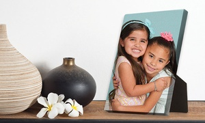 "Target Portrait Studio: Photo Shoot with 5""x7"" or 8""x10"" Canvas Display at Target Portrait Studios ( Up to 88% Off )"