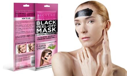 2, 4 of 8 zakjes Biovène Black PeelOff masker