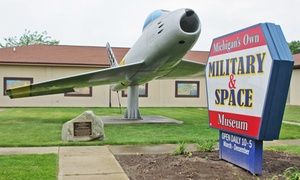 Michigan's Military and Space Heroes Museum: Admission for Two, Four, Six, or Eight to Michigan's Military and Space Heroes Museum (Up to 50% Off)