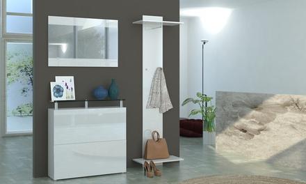 Mobili ingresso calava groupon goods - Mobili appendiabiti ingresso ...