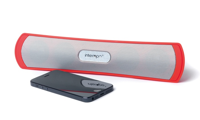 Bluetooth Badkamer Speaker : Intempo limbo bluetooth speaker groupon goods
