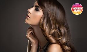 Onde di benessere: 3 o 6 pieghe per capelli con uno o 2 tagli da Onde di benessere (sconto fino a 81%). Valido in 2 sedi