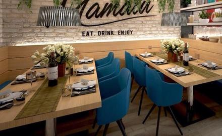 Cena de degustación para 2 o 4 con entrantes, principal, postre y bebida o vino desde 24,90 € en Mamalu Ruzafa