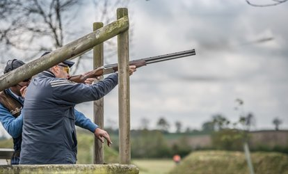 Clay Pigeon Shooting Experience with 25 Shots for Four at Honesberie Shooting School (33% Off)