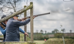 Honesberie Shooting School: Clay Pigeon Shooting Experience with 25 Shots for Four at Honesberie Shooting School (33% Off)