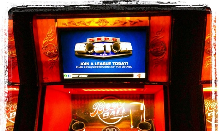 Skee Boston - The Greatest Bar: Up to 51% Off Skee Ball at Skee Boston