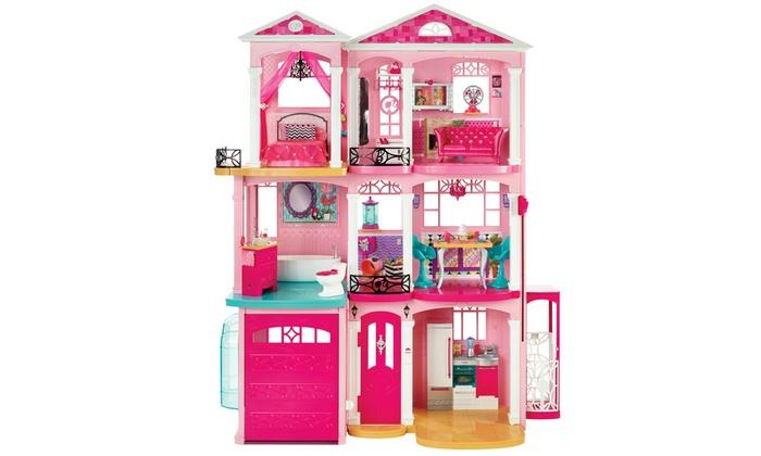 Barbie dream house groupon for Barbie dream house bedroom