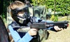 Backyard-Paintball - Dallas: One- or Two-Hour Kids' Mobile Backyard Paintball Party for 10 from Backyard Paintball (Up to 52% Off)