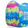 Indoor-Outdoor Pop Up Play Tent in Fun Underwater Design