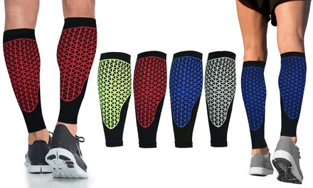 Energizing Calf Compression Sleeves (1 Pair)