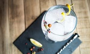 Ginlovers: 3 Std. Gin-Tasting – Verkostung von 5 exklusiven Gin-Sorten für 1 oder 2 Personen bei Ginlovers (bis zu 60% sparen*)