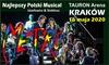 """Bilet na musical """"Metro"""" –Kraków"""