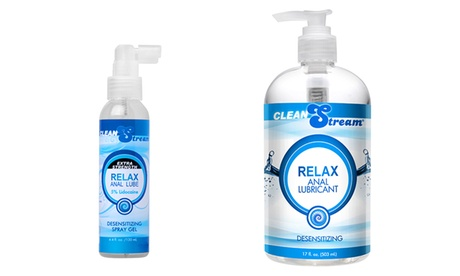 Relax Anal Lubricant with Benzocaine (4 Fl. Oz. or 17 Fl. Oz.) 46312ad0-292b-11e7-917f-002590604002