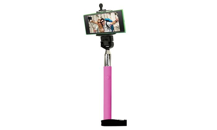 gforce adjustable selfie stick groupon goods. Black Bedroom Furniture Sets. Home Design Ideas