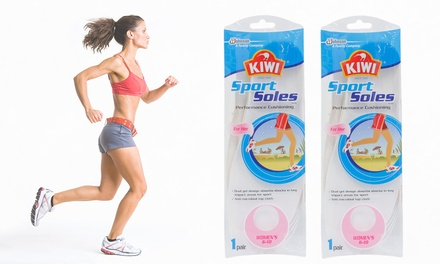 Kiwi Sport Soles Performance Cushioning For Her Two Pairs $19 or Four Pairs $29