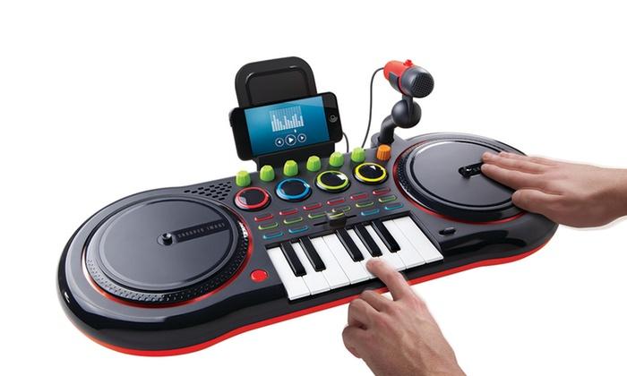 22 Off on Sharper Image DJ Turntable Mixer Groupon Goods
