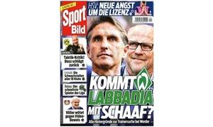 Eventus Media GmbH: Halbjahres-Abo (26 Ausgaben) der Zeitschrift Sport Bild (74% sparen*)