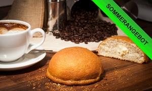Berlin Bun Bakery & Deli: 4er- oder 8er-Homemade-Buns-Mix-Box inkl. 1 oder 2 Kaffees nach Wahl im Berlin Bun Bakery & Deli (bis zu 52% sparen*)