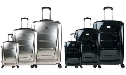 Set de 3 valises en PC ou ABS