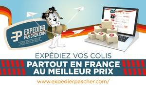ExpedierPasCher: Envoi de colis de 100 gr à 30 kg livré le lendemain en France dès 18,90 € avec ExpedierPasCher