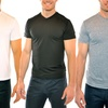 Men's Dry Fit and Stretch Lycra Active Tees