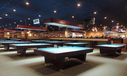 image for $12 for $20 Worth of Food, Drinks, and Pool or One Hour of Pool with Beer and Appetizer at Lacy's Cue