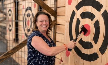 Up to 21% Off Axe-Throwing Session at Stumpy's Hatchet House