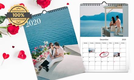 Hasta 5 calendarios A3 especial nAVIDAD de Printerpix (hasta 89% de descuento)