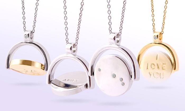construction rationnelle éclatant meilleure sélection de Collier signe astrologique | Groupon Shopping