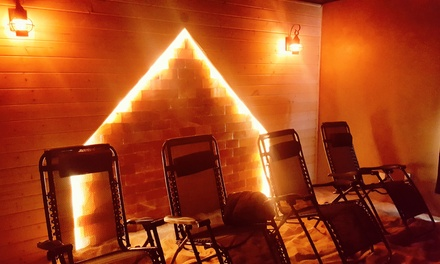 1, 3, or 5 Salt Cave Sessions or a Salt Cave Session for Two at The Salt Cave at Awaken Wellness (Up to 43% Off)