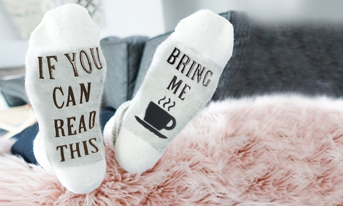 Bring Me a Cuppa Socks From £2.99