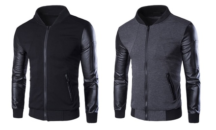 Mens Zipped Jacket