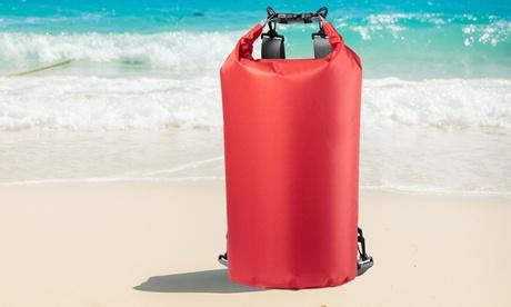 1 o 2 mochilas impermeables de 20 litros con cierre de seguridad