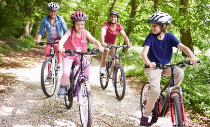 image for One-Hour or Half-Day Family Bike Hire at Alice Holt Cycle Centre (Up to 37% Off)