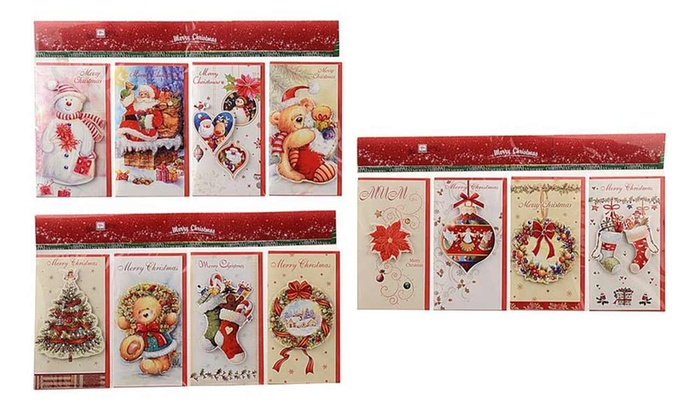Auguri Di Natale 3d.Biglietti Di Auguri Di Natale 3d Groupon Goods