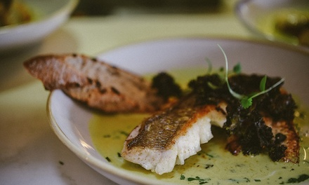 Two-Course Lunch with Wine for Two ($59), Four ($115) or Six People ($169) at 1908 Cronulla (Up to $366 Value)