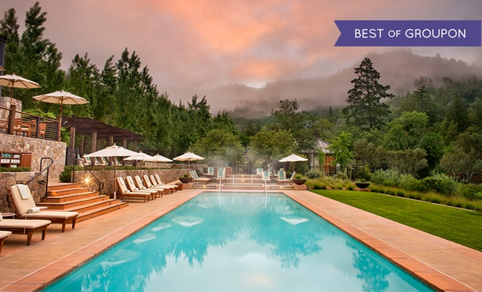 5-Star Napa Valley Resort with Spa Treatment