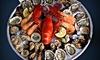 1 plateau de fruits de mer au choix pour 2