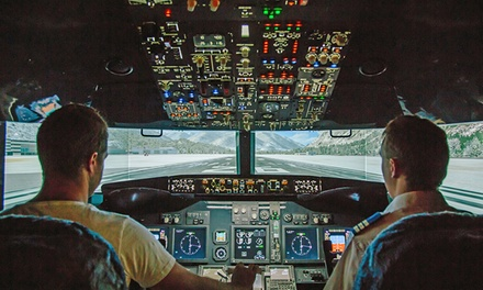 Jet Flight Simulator 30 $79 or 60Minute Experience $129 at Jet Flight Simulator Newcastle Up to $349 Value