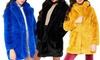 ColouredFaux Fur Coat