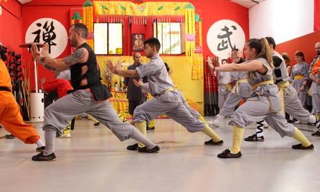 1 mes de tarifa plana de actividades colectivas orientales desde 9,90 € en Shaolin Temple