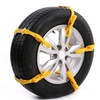 Adjustable Antislip Car-Tire Snow Chains (10-Piece)