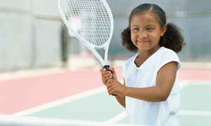 Cherry Hill Health & Racquet Club: One Week of Half- or Full-Day Tennis Camp for One Child at Cherry Hill Health & Racquet Club (Up to 50% Off)