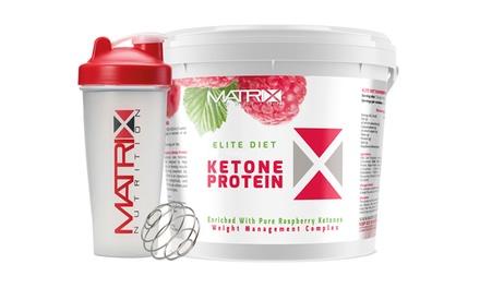Matrix Elite Diet Ketone Protein with Shaker