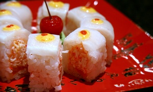 Ai Sushi Sake Grill: $25 for a Sushi Meal with Four Rolls for Two at Ai Sushi Sake Grill (Up to $56 Value)