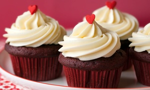 Trophy Cupcakes and Party: $26 for an Online Order of One Dozen Classic Cupcakes from Trophy Cupcakes and Party ($44.40 Value)