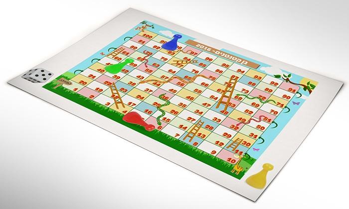 פיקסל אלבום דיגיטלי: אלבום דיגיטלי מעוצב לפי בחירתכם על לוח משחק סולמות ונחשים, רק ב-19.90 ₪